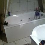 salle de bain avant baignoire...