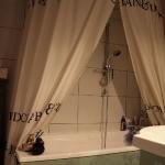 double rideau de douche...
