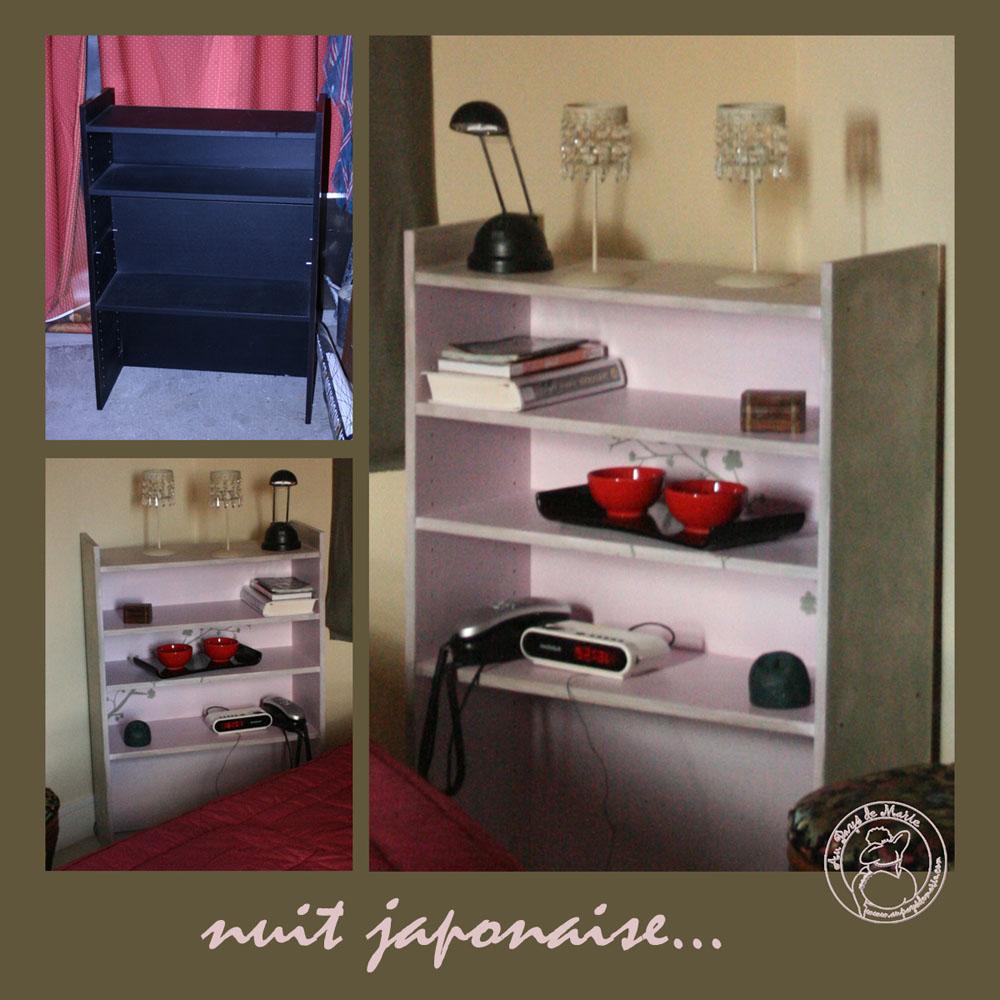 Tables bureaux tables basses - Table de nuit japonaise ...