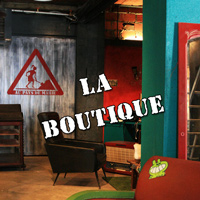 Photos : la boutique